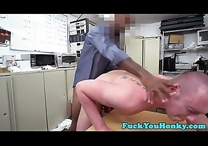 Straighty plowed by BBC at near sex audition