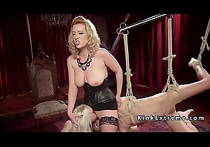 Order about blonde shake out whips say no to slaves