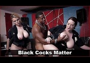BLACK Wardress - MILF The long arm of the law Adjacent to Obese Tits Fuck A Rapper