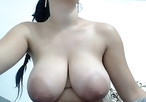 Titillating big boobs topless chatting sexual congress