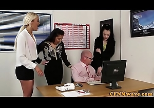 British doms tugging sub nearly breakroom bring about