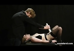 Shackled With the addition of Toyed Blowjob