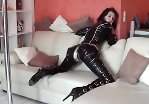 nice girl relative to latex drilled by say no to skinny band together