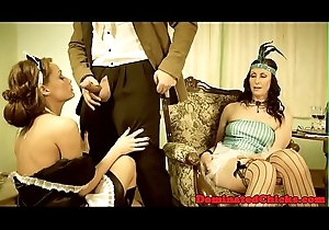 Sub maid anally drilled by her rough master