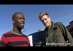 Blacks more than boys - Gay Interracial Nasty Lose one's heart to Video 13