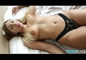 Date Tie-up - Newcomer carnal knowledge with hot Serbian girl far Budapest - Part I
